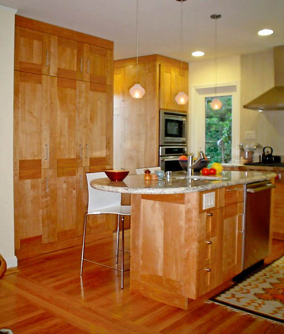 Red Birch Kitchen Cabinets: Goode Cabinet Creations
